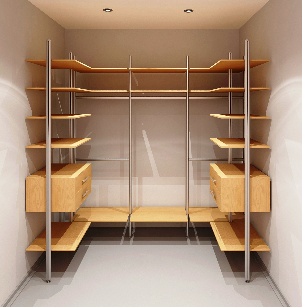 Гардеробная комната своими руками в маленькой комнате