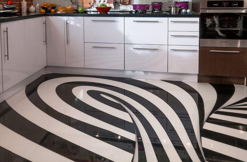 Наливные полы на кухню с рисунком отзывы наливные полы сайт
