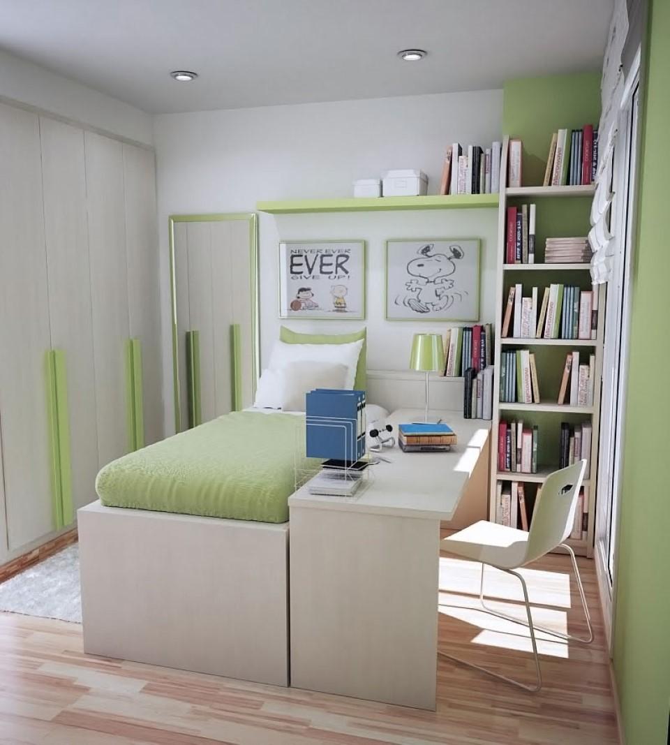 Как сделать перестановку в маленькой комнате для подростков