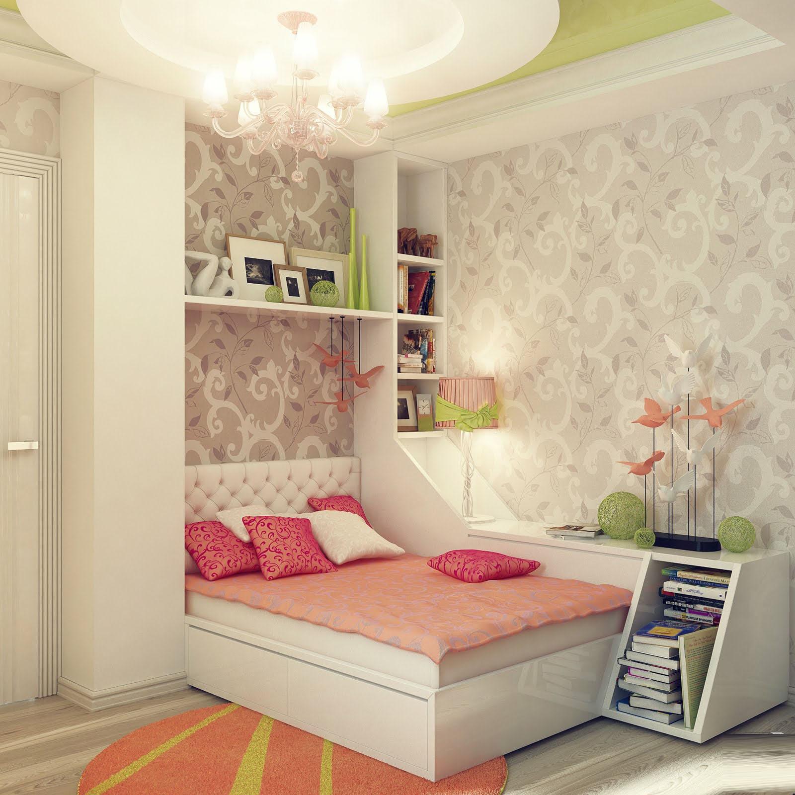 Дизайны для комнаты девушки подростка