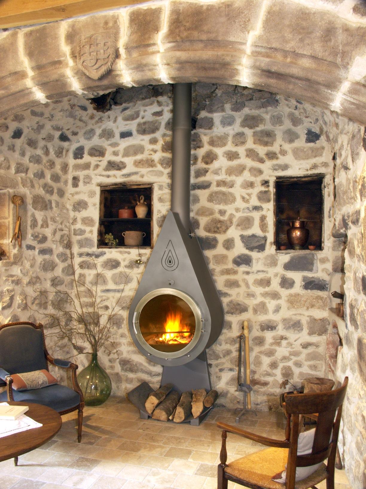 Пеллетный камин – эргономичная новинка