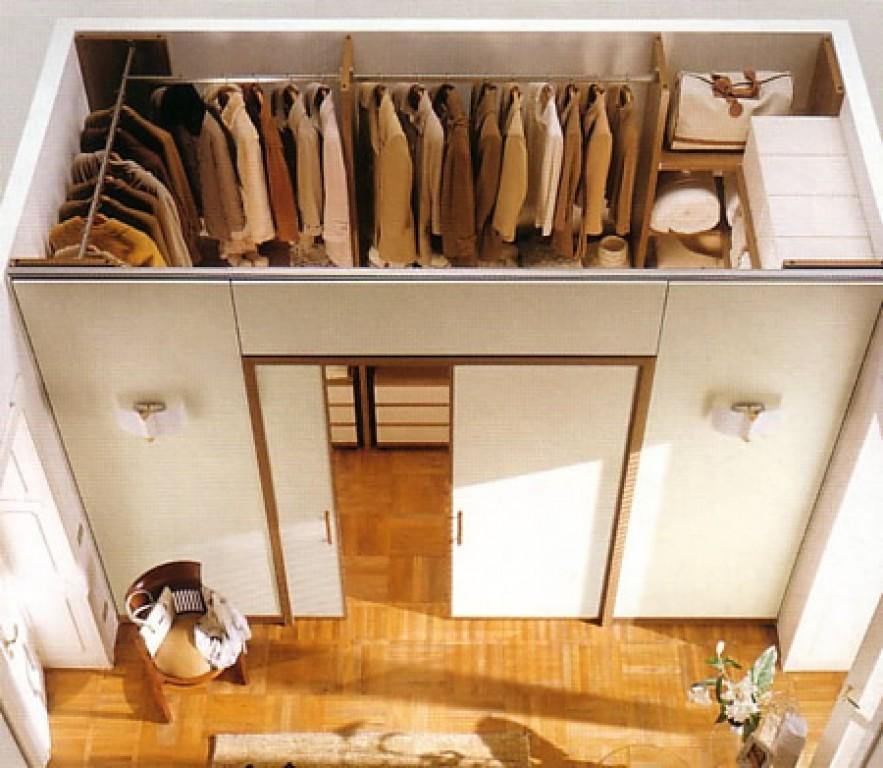 Как и сделать гардеробную комнату своими руками