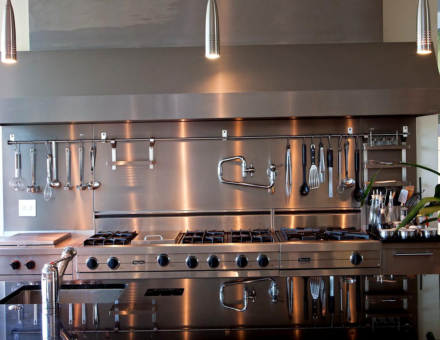 Как расположить рейлинги на кухне - установка 23