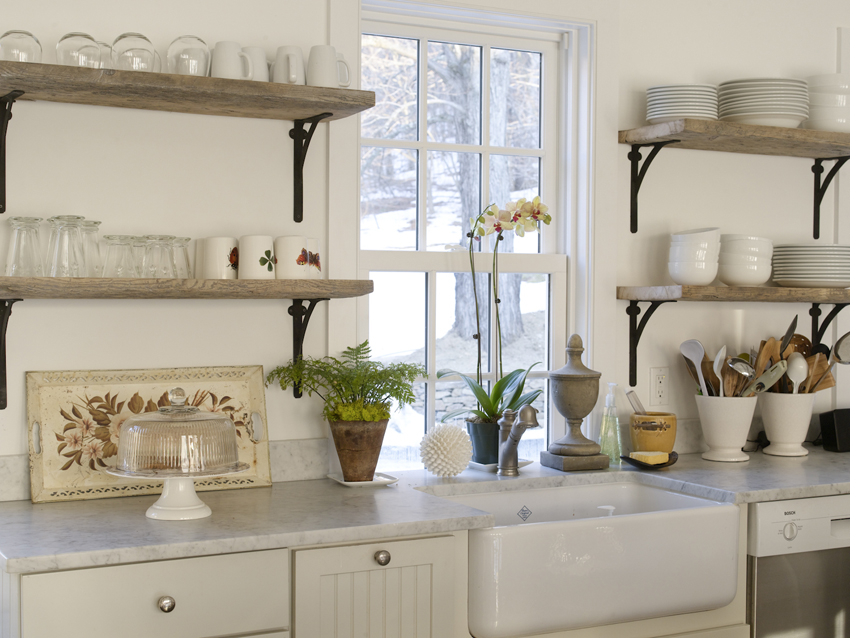 Полки на кухне своими руками фото 46