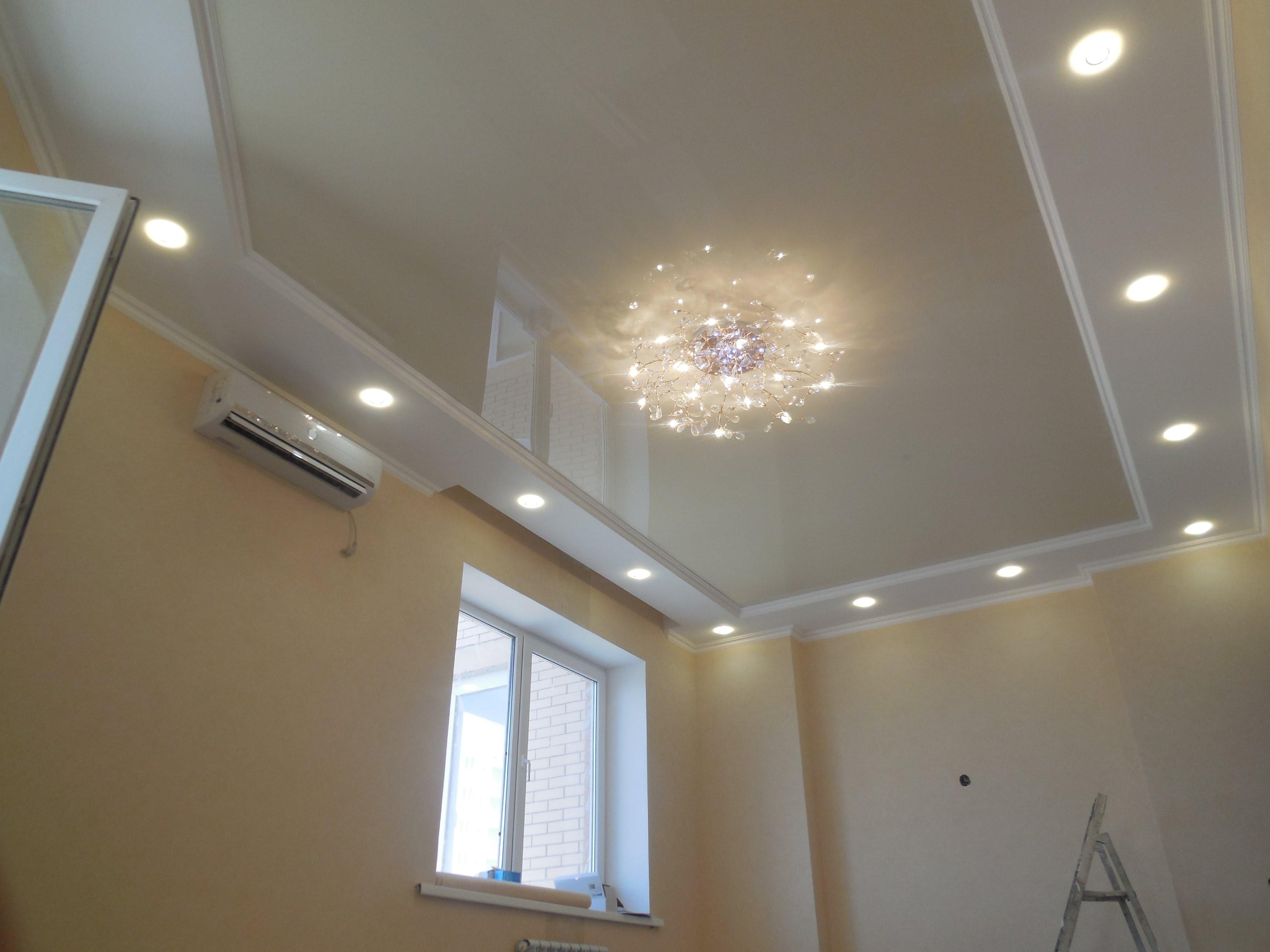 2 уровневый потолок из гипсокартона своими руками фото 729