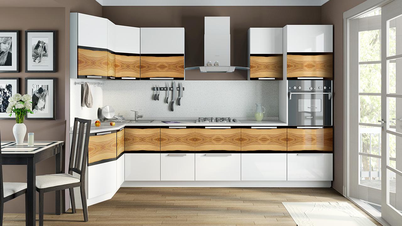 Дизайн шкафчиков для кухни