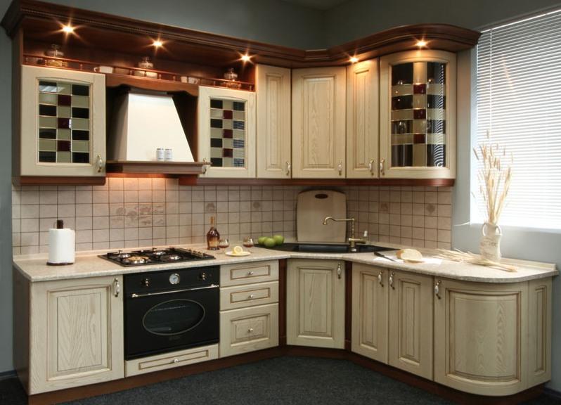 размеры углового кухонного шкафа виды гарнитуров для кухни