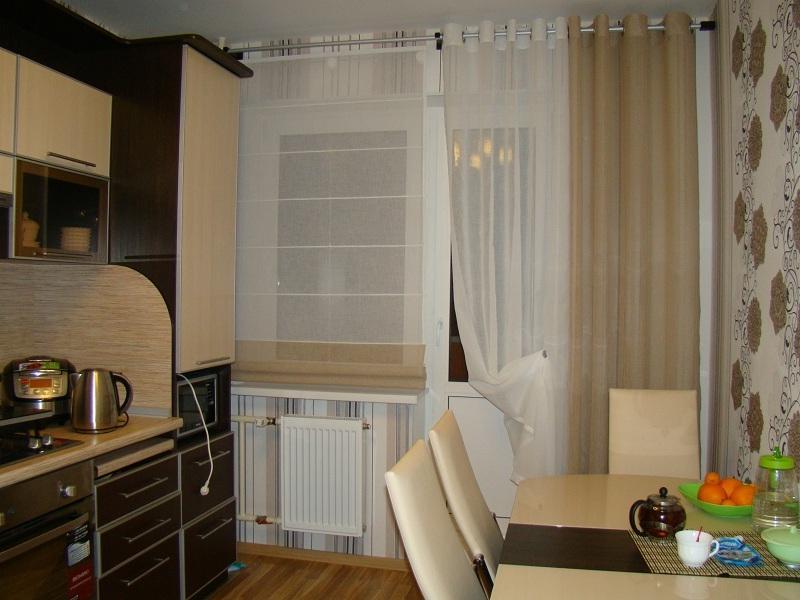 Оформление окна на кухне: фото как оформить окно на кухне шт.