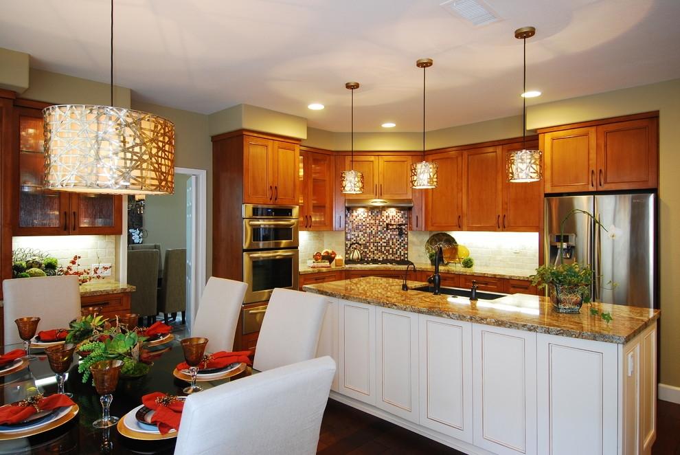Дизайн светильники для кухни