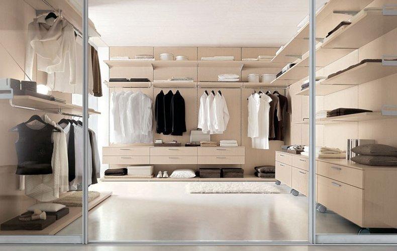 Стеллажи металлические для гардероб