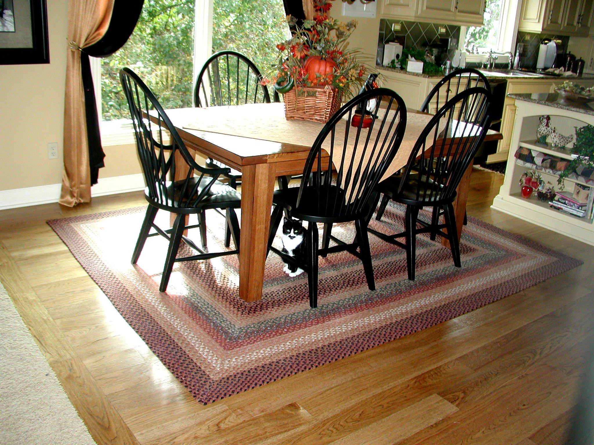 Плетеные коврики своими руками в стиле кантри