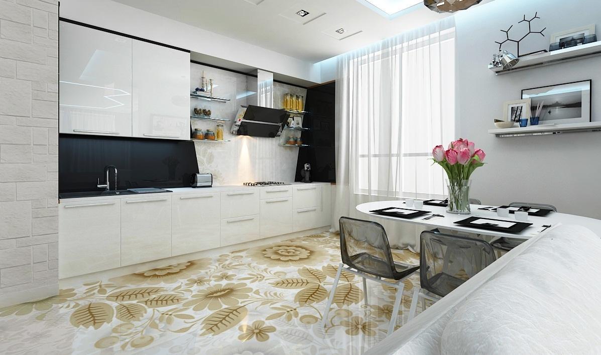 Наливной теплый пол на кухне нужна гидроизоляция пола на мансарде