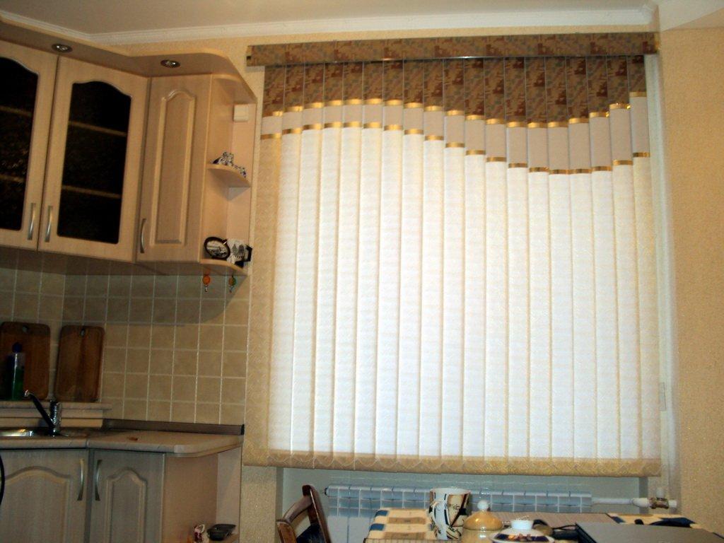 Жалюзи для кухни вертикальные фото