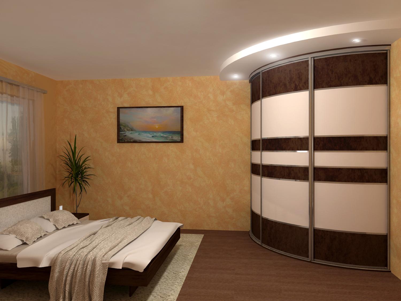 Встроенный шкаф для спальни фото