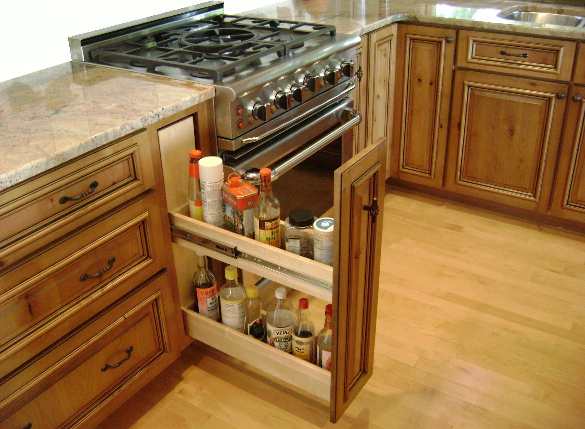 Выдвижные шкафы для кухни: корзины для кухонных шкафов, как .