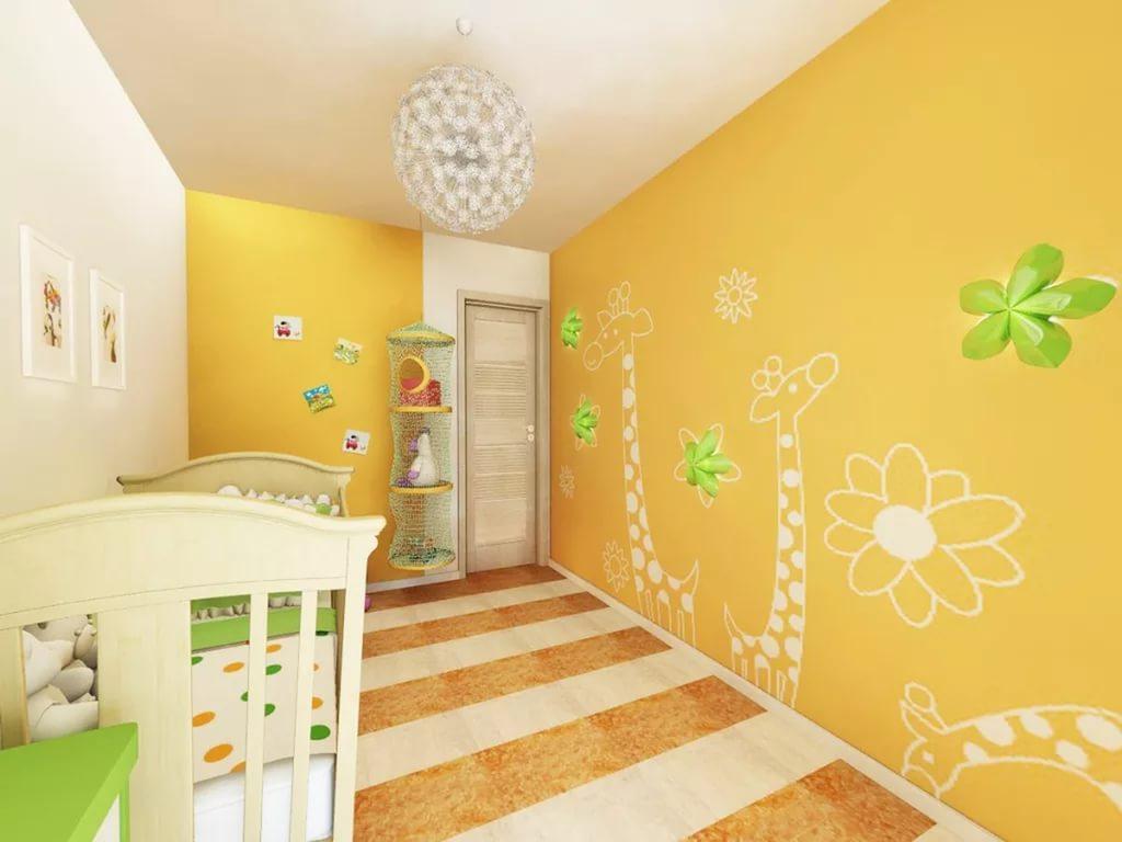 жидкие обои в детской комнате 29 фото рисунки на стене в