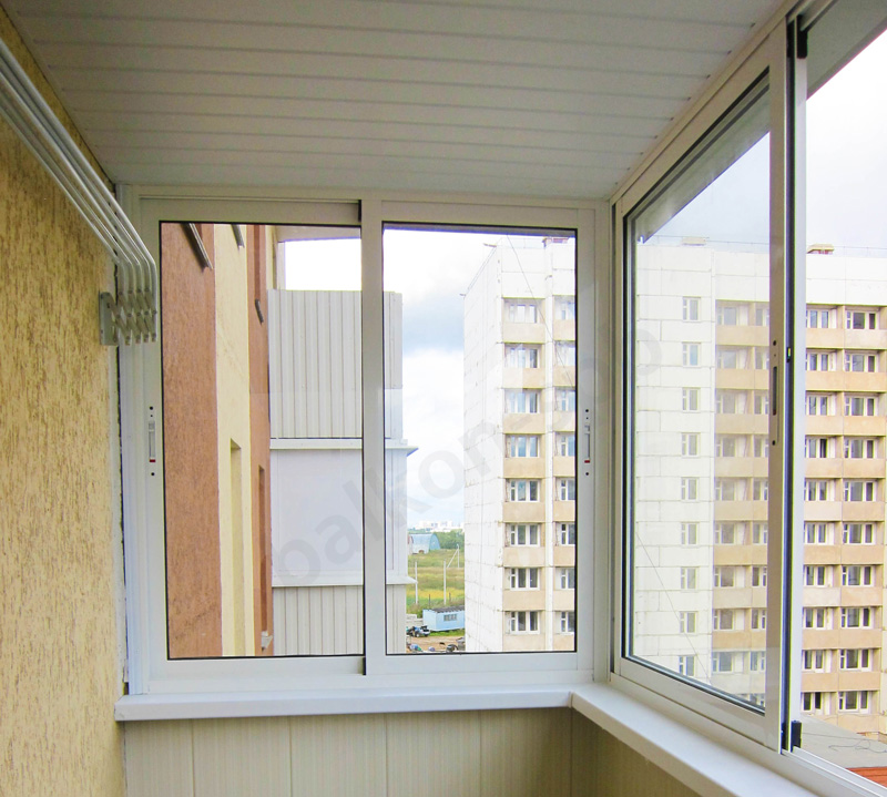 Остекление балкона из алюминия остекление балконов рассчитать омск