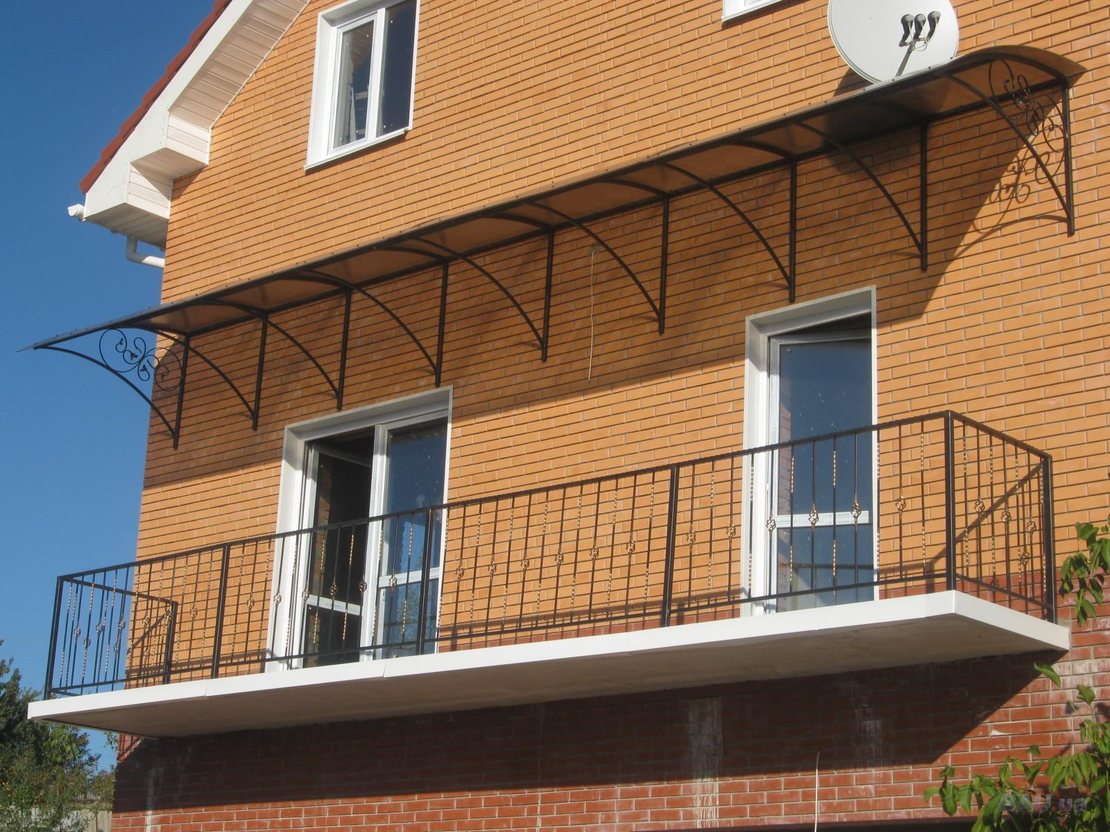 Виды, особенности устройства и дизайна балконов 80