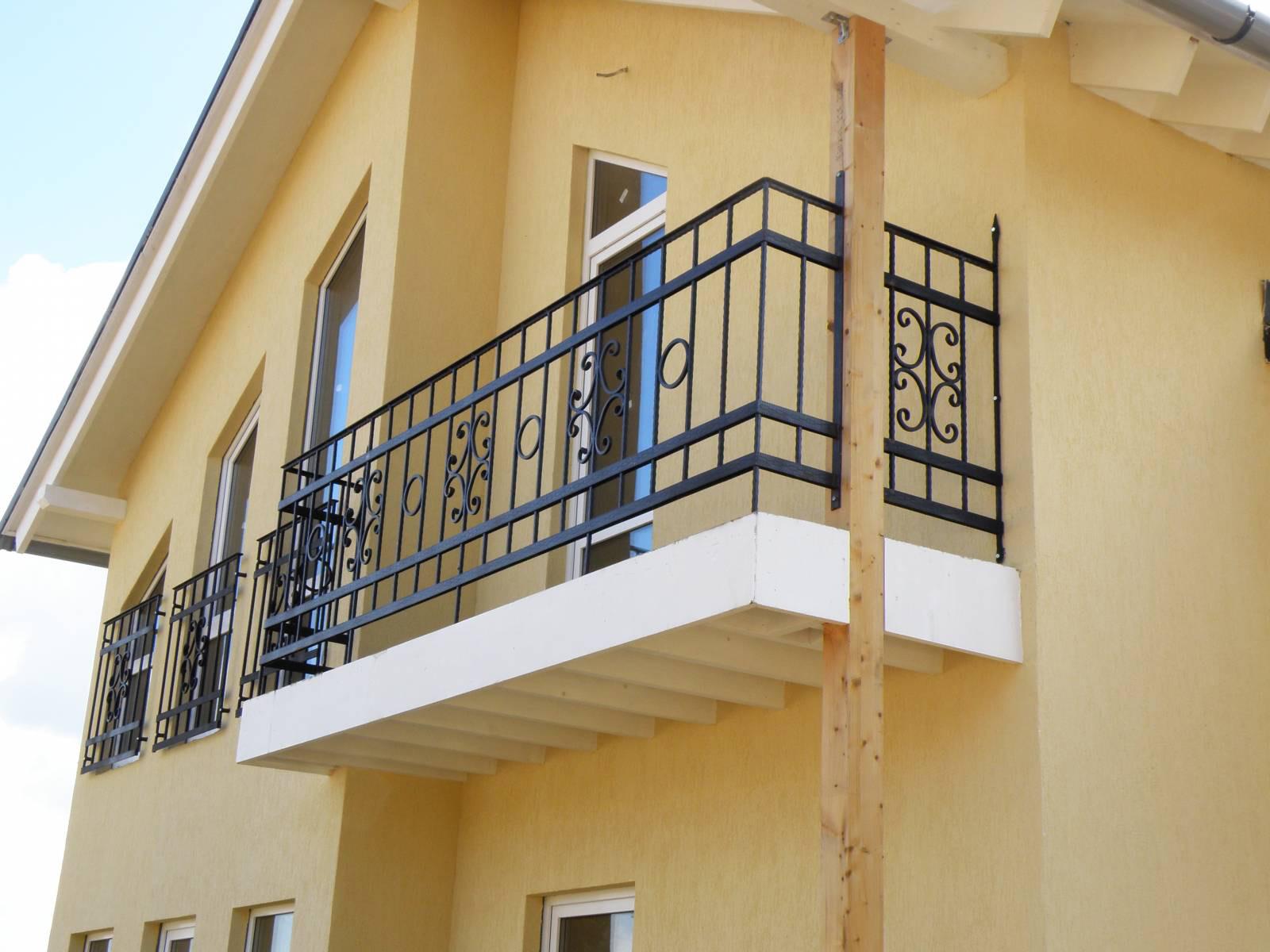 Балконные ограждения и балконы кованые купить в омске. кован.