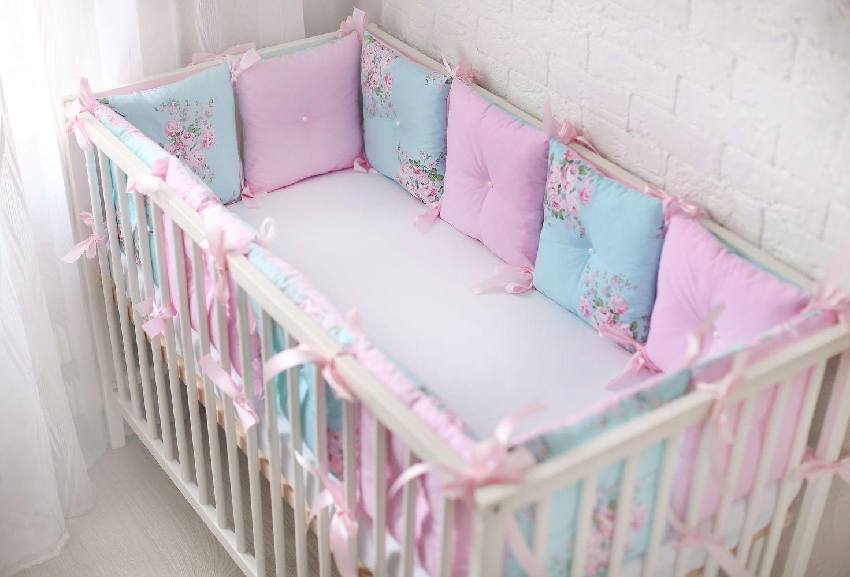 Бортики на кроватку для новорожденных картинки 1