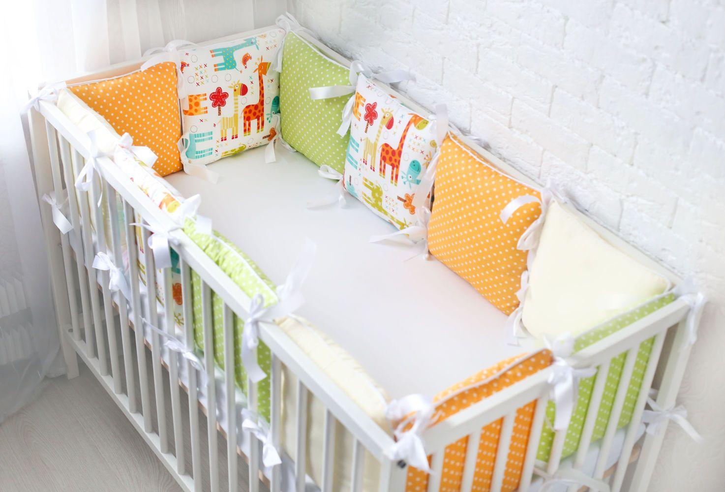 Бортики для детской кроватки своими руками мастер 827