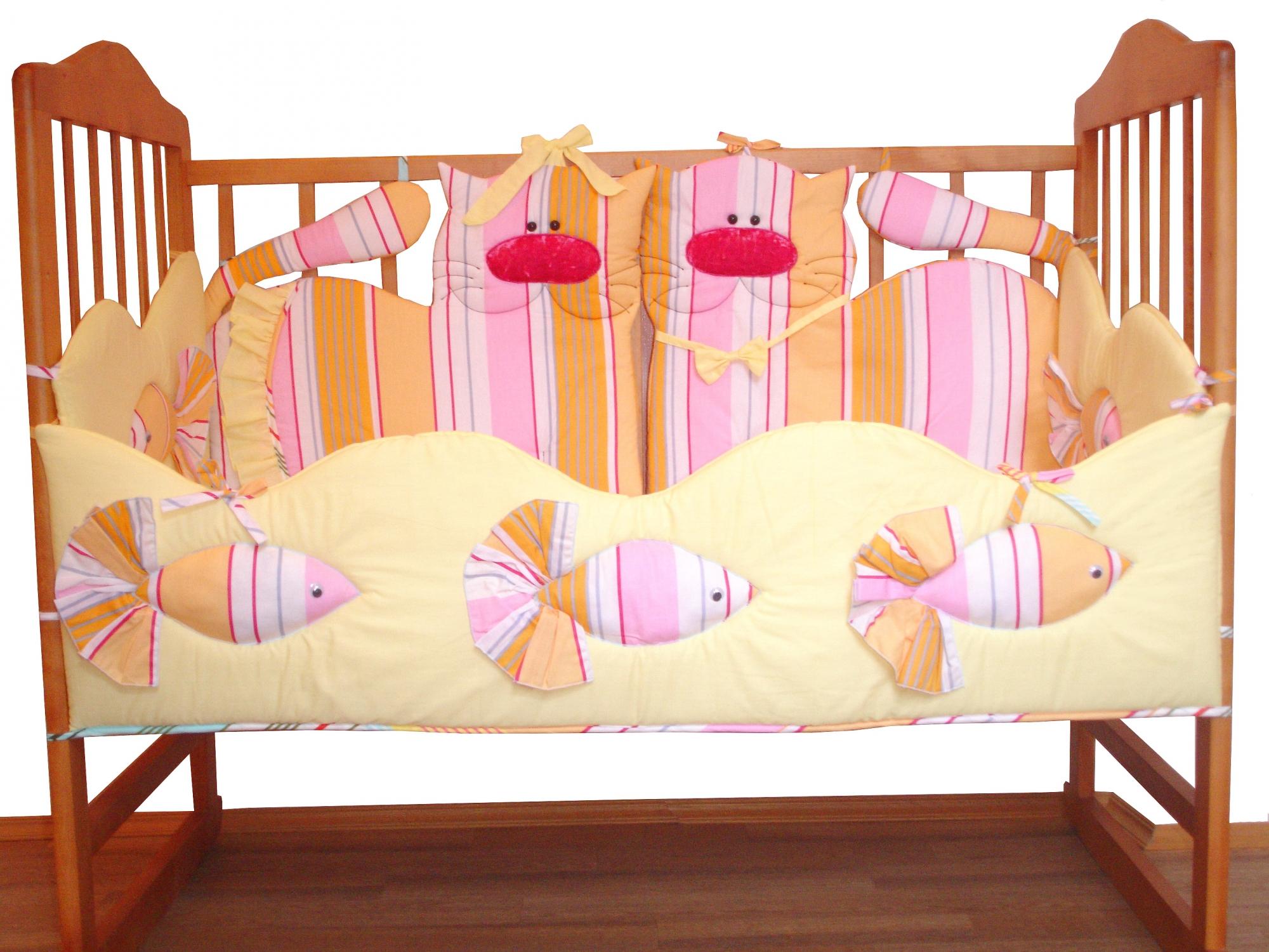 Как сделать защиту для детской кроватки