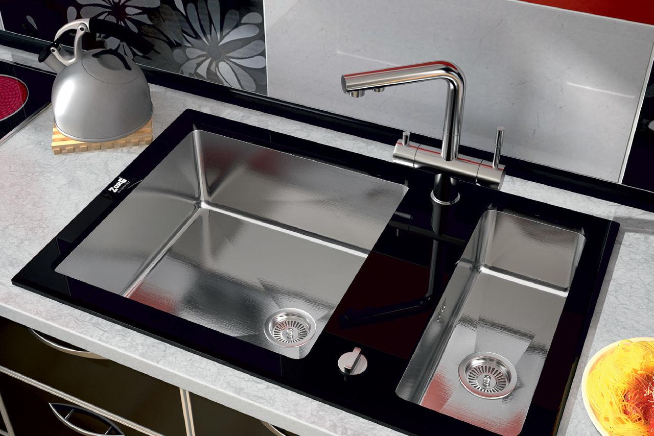 кухонная мойка нержавейка стекло слова оригинальные
