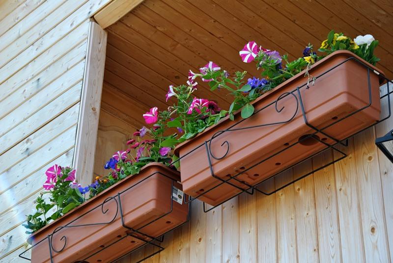 В том случае, если балкон не застеклен, то перед посадкой цветов, нужно учесть силу дующего ветра