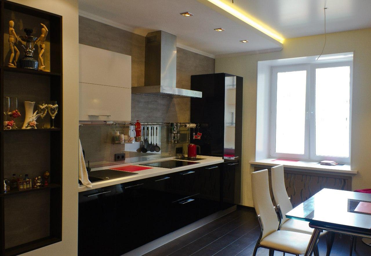дизайн кухонь в квартирах с фото