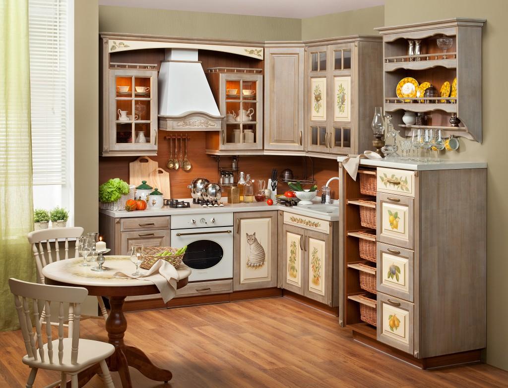 dekupazh-kuhonnoj-mebeli-42 Декупаж кухонного стола своими руками и оформление стен на кухне