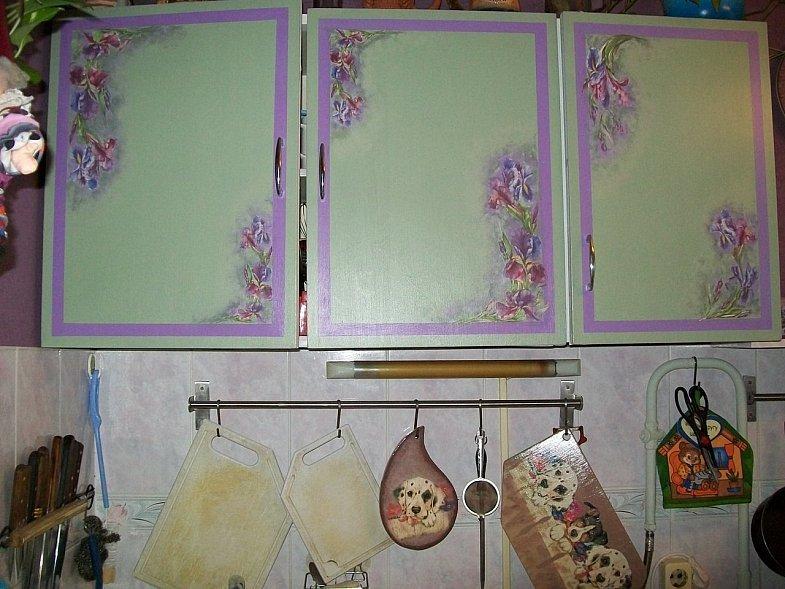Обновить кухонные шкафы своими руками
