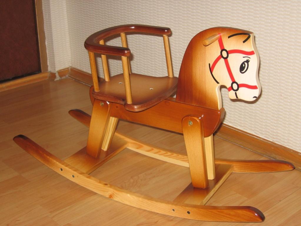 Как сделать деревянную качалку для детей