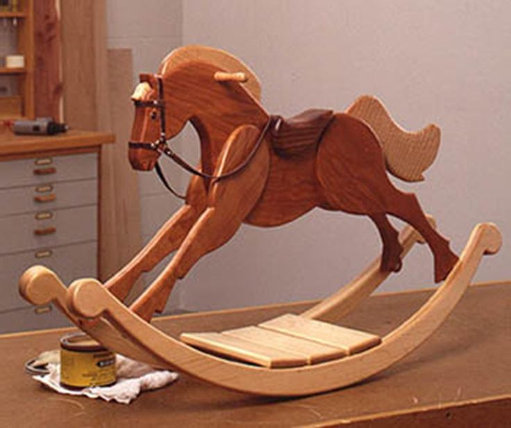 Как сделать качалку лошадь