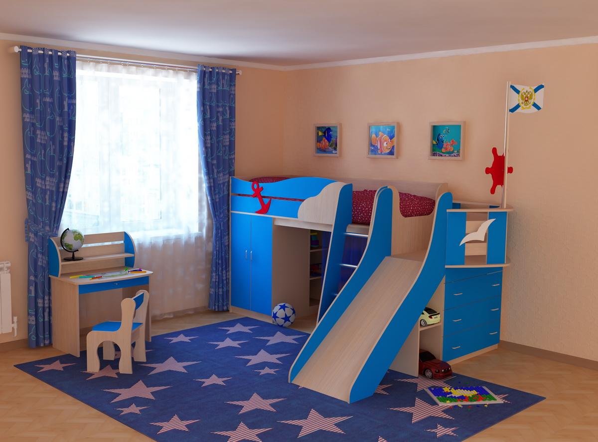 Детская мебель для мальчиков - купить в спб.