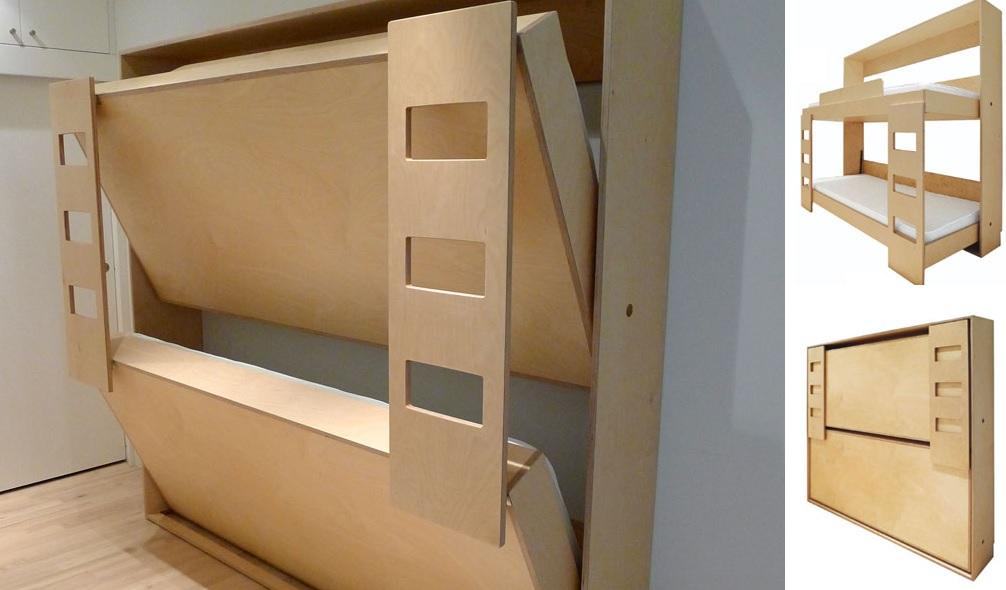 Как сделать кровать складную