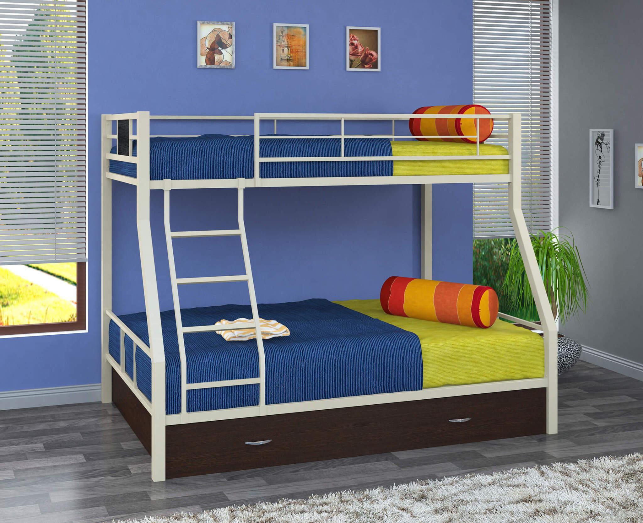 Полный обзор детских кроватей и их конструктивных особенностей