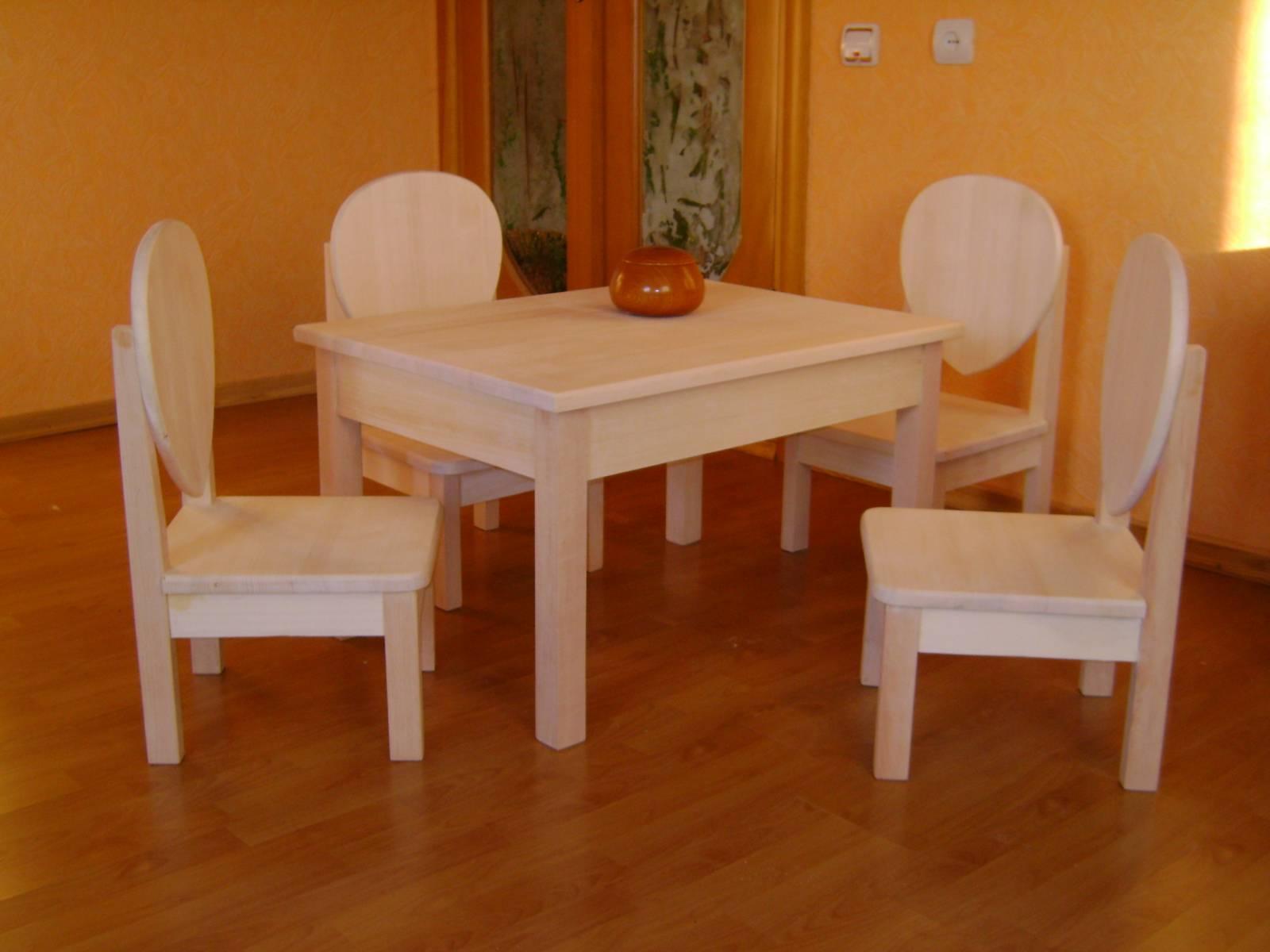 Деревянные стульчики - трансформеры