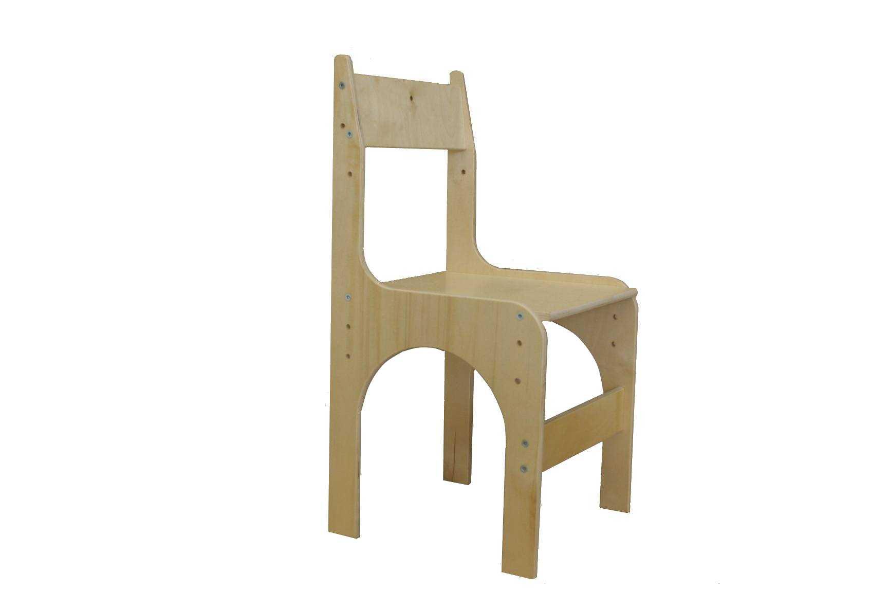 Детский стул из фанеры чертежи