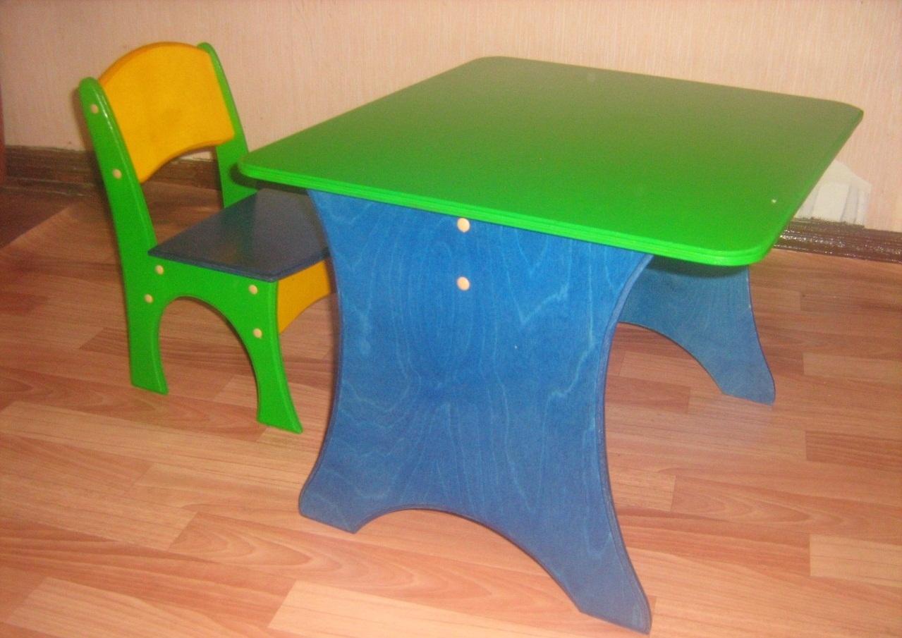Сделай сам своими руками детский столик и стульчик