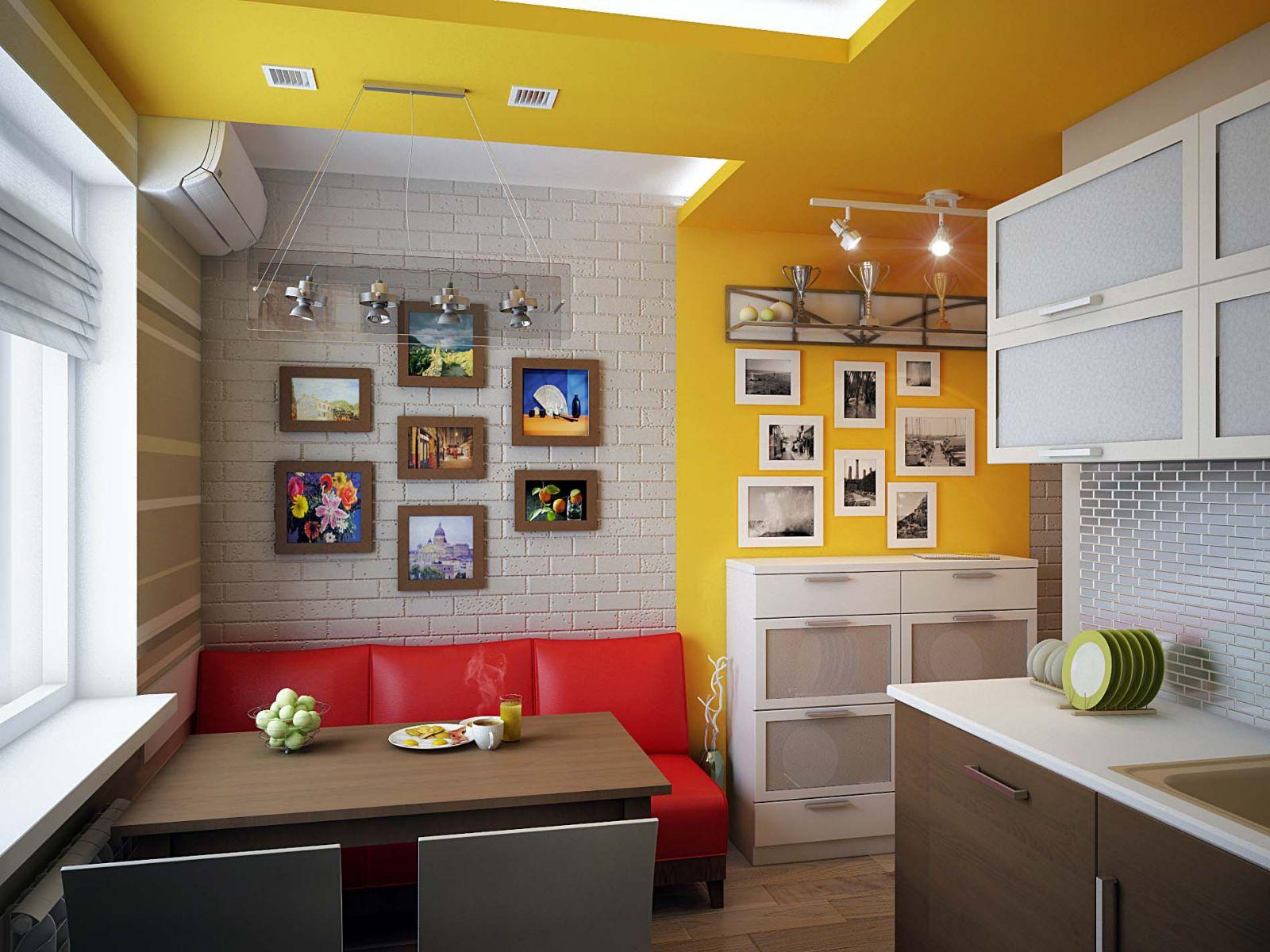 Как на маленькой кухне сделать спальное место