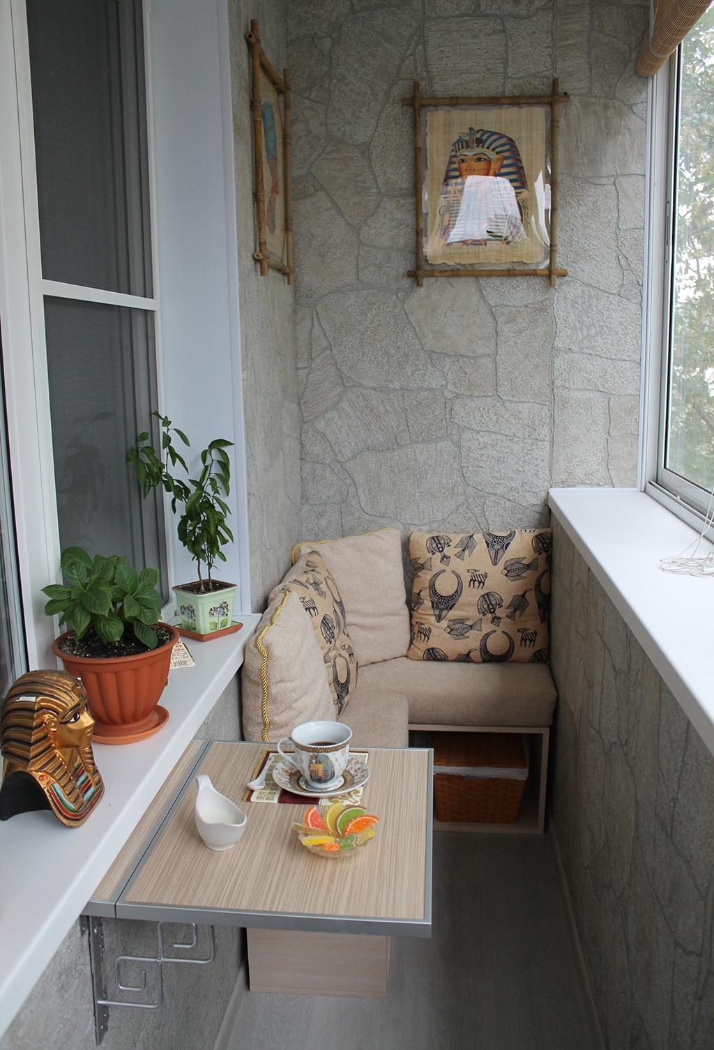 Обшить балкон в хрущевке своими руками фото