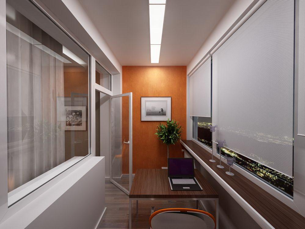 Дизайн балкона: фото интерьеров на любой вкус.