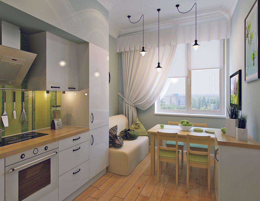 Кухня гостиная дизайн 11 квм