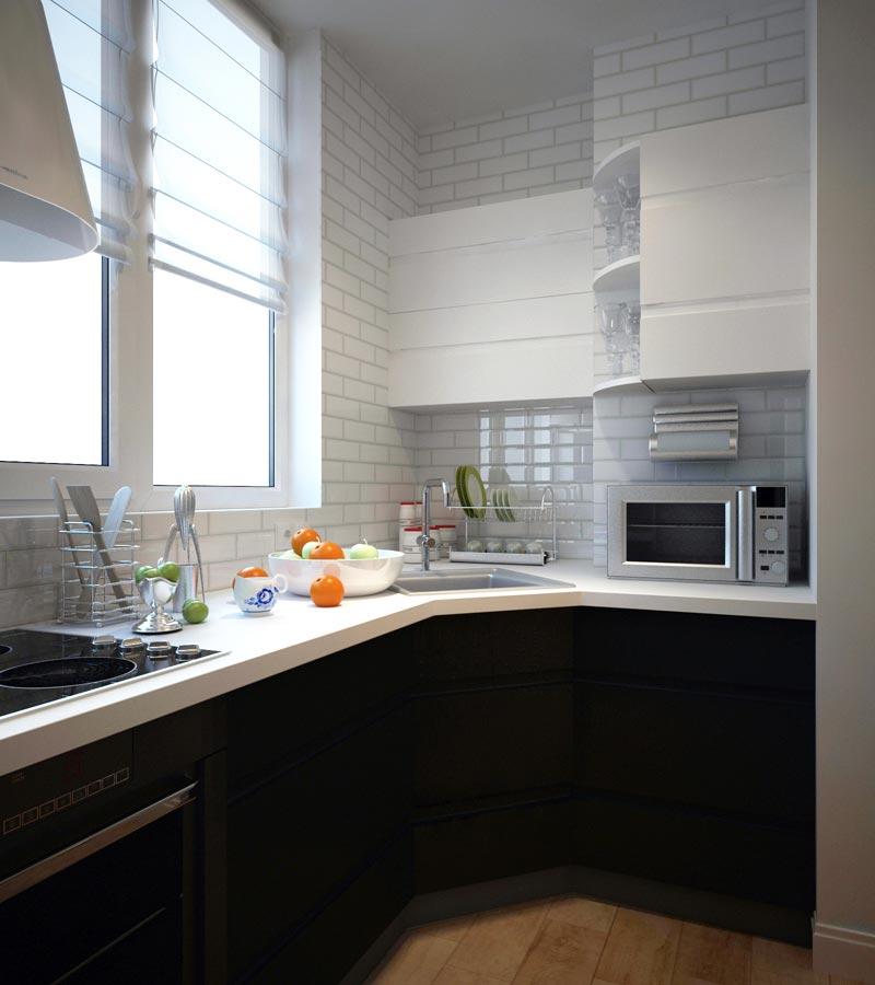 кухня на балконе фото дизайн 6