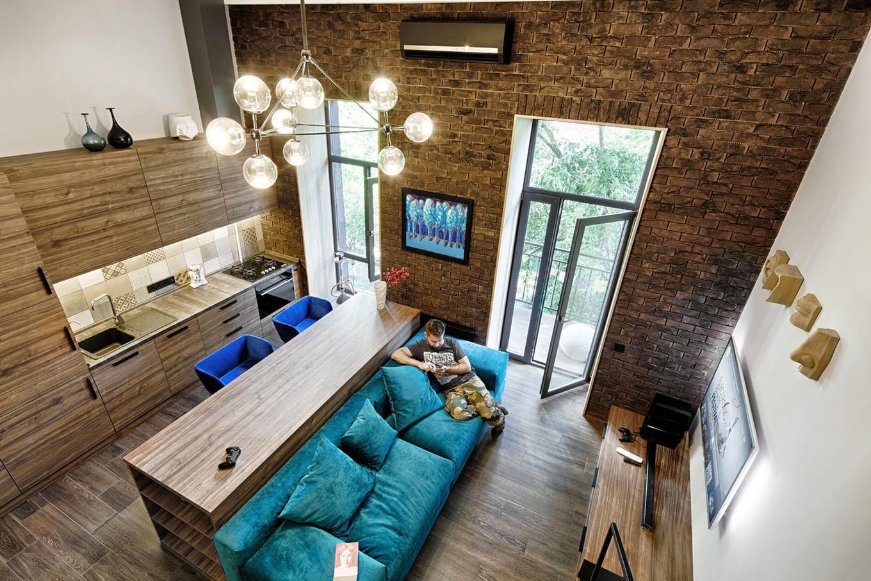 Дизайн однокомнатных квартир в стиле лофт