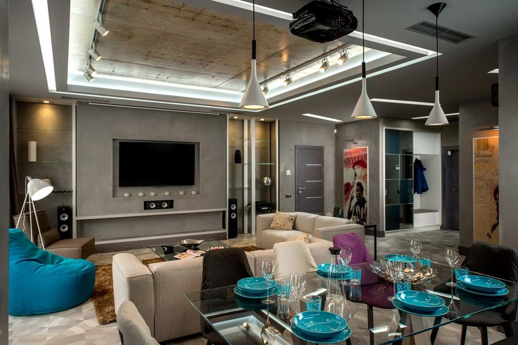 Дизайн гостиной, фото интерьеров | Портфолио | Современные ...