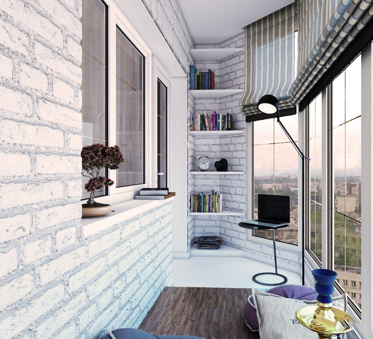 Панорамное окно на балкон или лоджию: варианты решений.