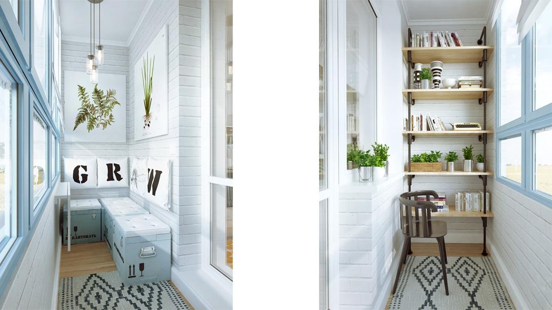 Маленький балкон фото идеи дизайна