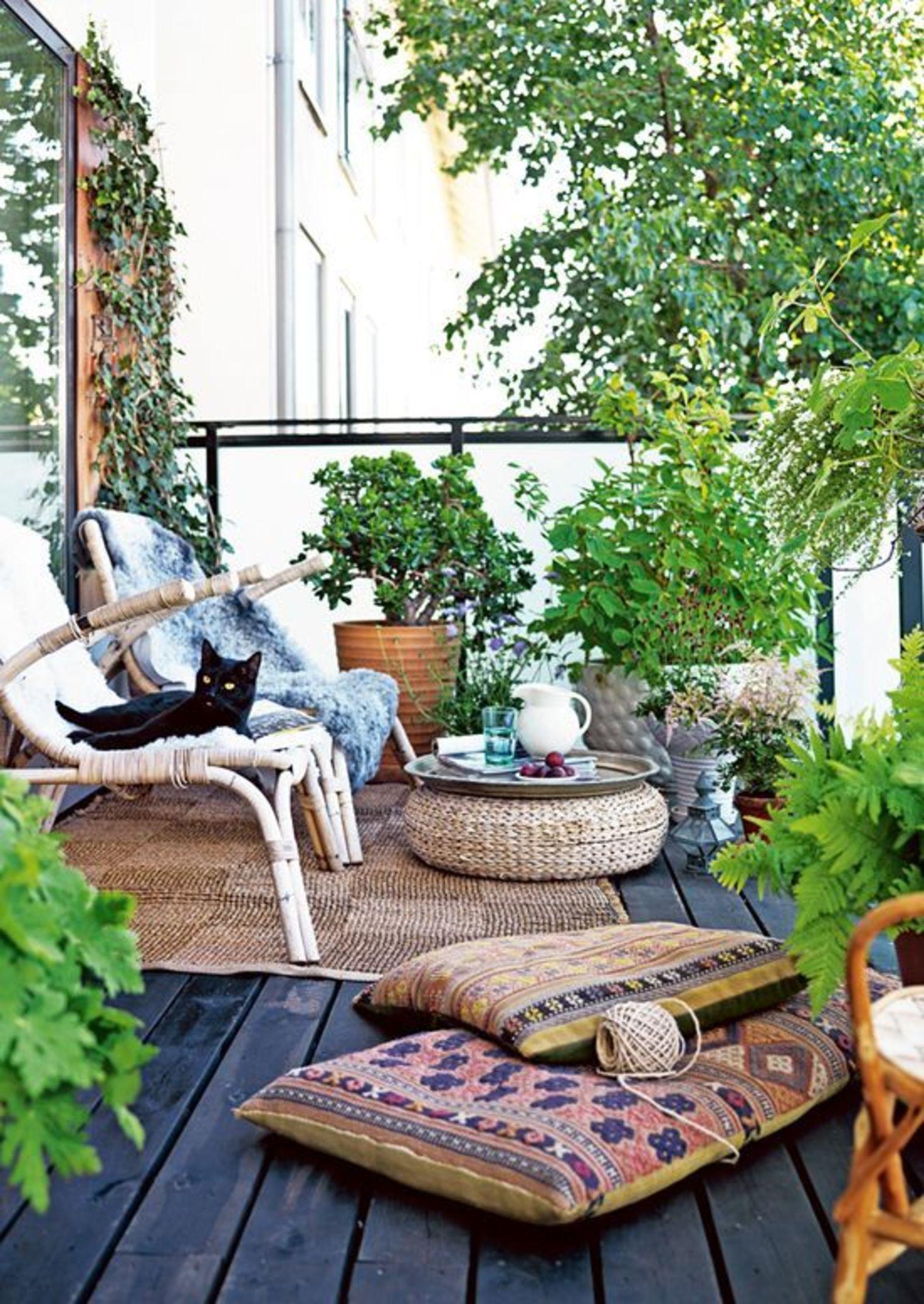 14 привлекательных садов на балконе.