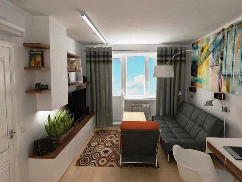 дизайн 2 комнатной квартиры 38 кв.м фото